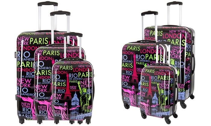 koffer met print gallery of koffers bedrukken with koffer met print elegant de koffers van. Black Bedroom Furniture Sets. Home Design Ideas