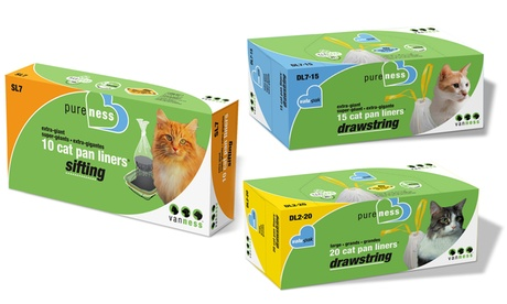 Van Ness Pet's Litter Pan Sifting or Drawstring Liner d6931998-3dad-11e8-9169-5254801ee647
