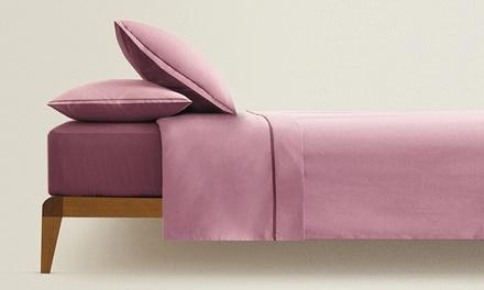 Completo lenzuola Bicolor Julie disponibile in 3 misure e 4 colori