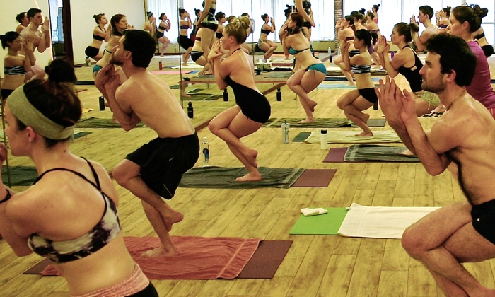 Sweaty Ganesh Yoga - Downtown: $39 for One Month of Unlimited Hot Yoga Classes at Sweaty Ganesh Yoga ($135 Value)