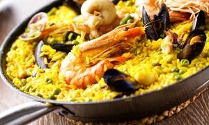 Sporting Dora Ristorante: Menu 1 Kg Paella di pesce, tris di antipasti, dolce, vino e caffè fino a 6 persone da Sporting Dora (sconto fino a 58%)