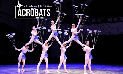 The New Chinese Acrobats on October 18 at 7:30 p.m.