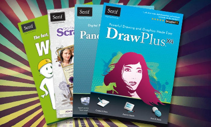 Serif: $25 for a Package of Graphic-Design and Website-Building Software from Serif, Inc. ($324.95 Value)