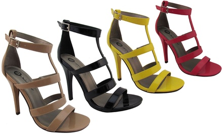 Michael Antonio Jaslene Strappy Sandal Heels
