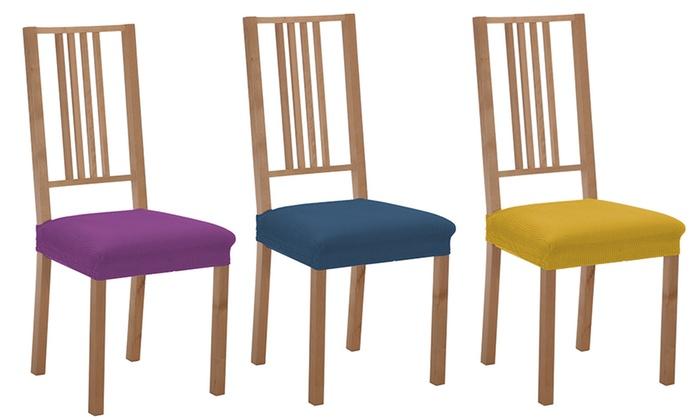 Fundas el sticas para sillas groupon - Fundas elasticas para sillas ...