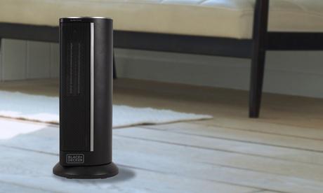 BLACK & DECKER Ceramic Tower Heater 438f8e94-6b57-47b9-bbcd-89d35f7928f5