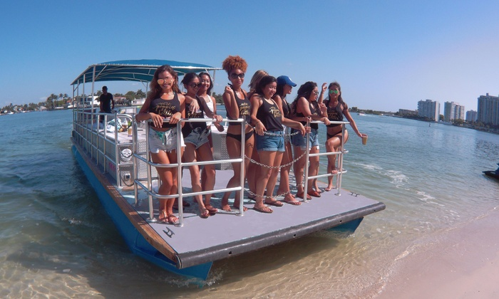 45 Off Byob Private Cruise On A Pontoon Boat