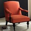 Safavieh Vibrant Orange Devona Armchair