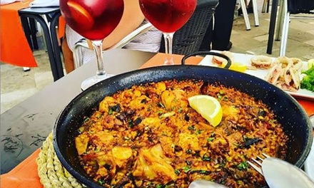 Menú con entrante, principal, bebida y postre en Restaurante - Cerveceria Qué Rico (hasta 54% de descuento)