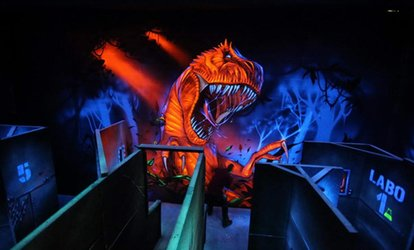 2 parties de laser game pour 1,2,3 ou 4 personnes dès 9 € au Lost Valley