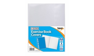 Tiger Clear Exercise Book Covers