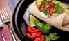 Que Pasa Mexican Fresh - Clarksville: One Burrito at Que Pasa Mexican Fresh (40% Off)