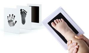 Cadre souvenir empreintes bébé