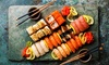 Exklusive Sushi-Platte + Dessert