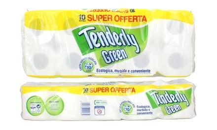 9b3bc161a8e8 120 o 240 rotoli di carta igienica Tergò Eco in pura cellulosa ...