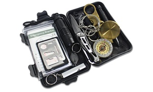Outdoor Nation Survival Gear Kits 13 in 1- Emergency Survive Tool