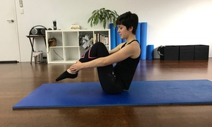 Stomping Ground Studios: Seven Days of Unlimited Pilates Mat Classes for 1 ($15) or 2 People ($29) at Stomping Ground Studios (Up to $260 Value)