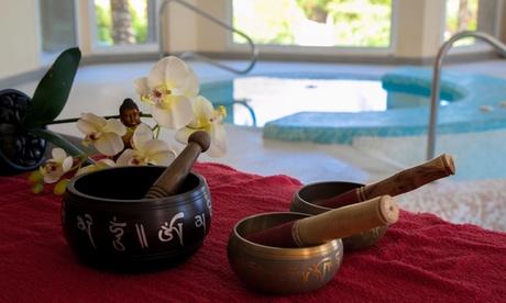 Cirtuito spa para dos con masaje craneofacial y opción a degustación de platos y bebida desde 29,99 € en Spa Sensara