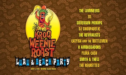 Special Offer Courtesy of So Cal VW Dealers for KROQ Weenie Roast feat. The Lumineers & More on Sat. June 8, at 1 p.m.