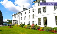 Hertfordshire: 1 Night for Two with Breakfast and Three-Course AA Rosette Dinner at the West Lodge Park Hotel