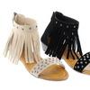Shoes of Soul Women's Fringe Sandals