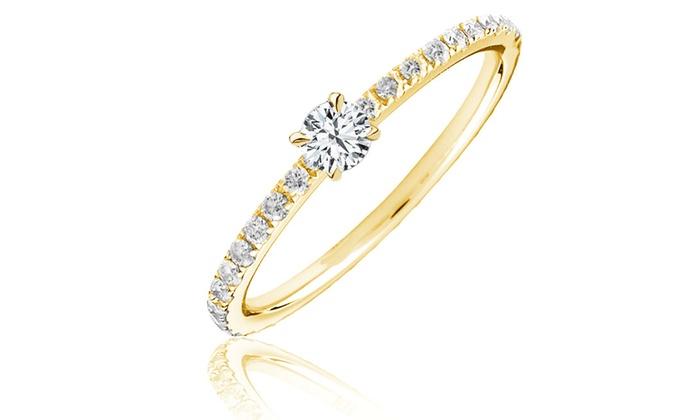af1b99eb34ab Anillo compromiso oro y diamantes