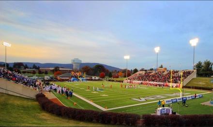 CIAA Football Championship on Saturday, November 10, at 1 p.m.