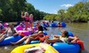 Up to 26% Off Tube Rental at Pec Time Tubing