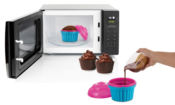Zap Chef V03285 Cuppa Cake Microwave Cupcake Maker