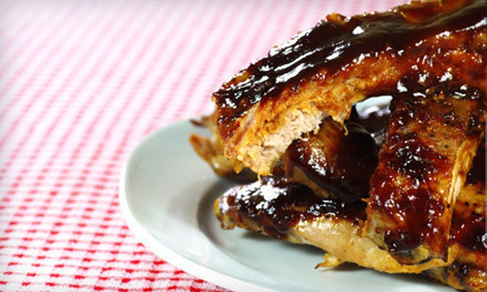 Squeal Bar-B-Q - New Orleans: $5 for $10 Worth of Barbecue Fare at Squeal Bar-B-Q