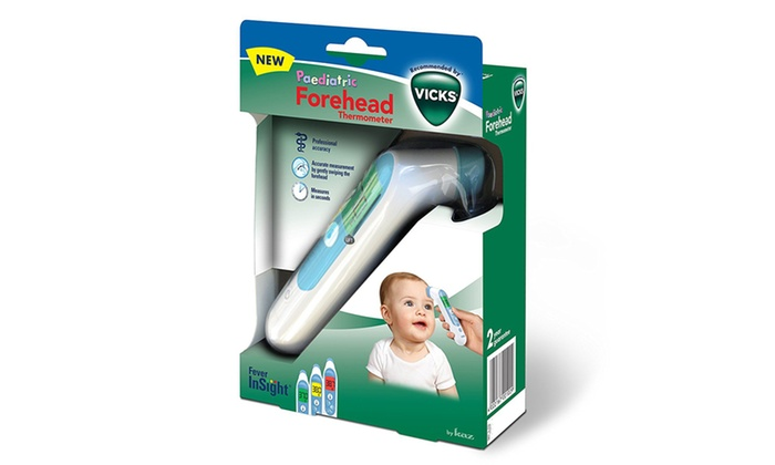 vicks baby thermometer instructions
