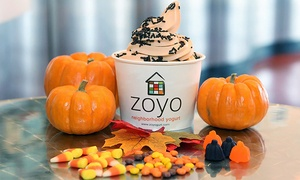 Frozen Yogurt at Zoyo (40% Off)