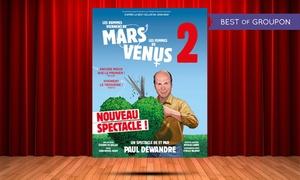 """Label LN: 1 place pour """"Les hommes viennent de Mars et les femmes de Vénus 2"""" à 29 € à Ludres, Metz et Charleville-Mézières"""