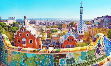 ✈ Barcelona: 2 of 3 nachten verblijf in Hotel Ciutat de Barcelona met ontbijt en vlucht vanaf Amsterdam of Eindhoven