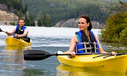 Two-Hour Kayaking or Paddleboarding for One, Two or Four with The Watersports Academy (50% Off)