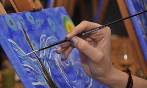 Xpresarte: Experiencia 3 horas de pintura entre amigos para 1 ó 2 personas desde 26,99 € en Xpresarte