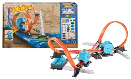 hot wheels track builder kit groupon goods. Black Bedroom Furniture Sets. Home Design Ideas