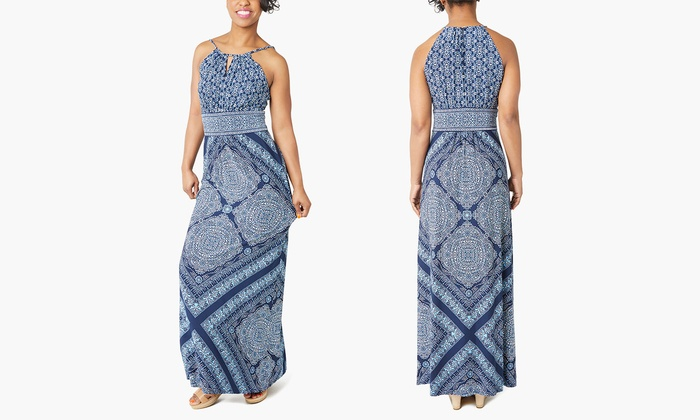 Up To 87 Off On Printed Maxi Dresses Groupon Goods