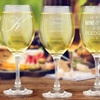 Up to 63% Off Engraved Wine Glasses