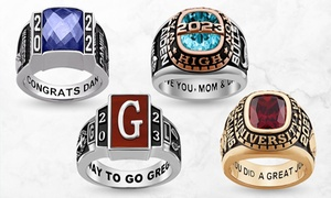 Up to 64% Off Personalized Class Rings from Limogés Jewelry