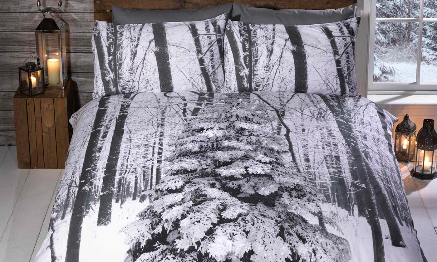 Rapport Home Winter Collection Duvet Cover Set for £9.98
