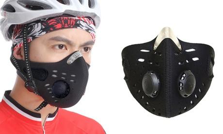 1 o 2 mascarillas deportivas anti-contaminación