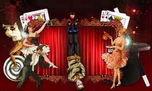 Illusions Bar and Theater  : Two or Four Tickets to Variety Magic Show at Illusions: Bar & Theater Fridays & Saturdays at 9pm through Oct 15th, 2016