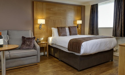 Derbyshire: 1 or 2 Nights for Two with Breakfast and Option for Dinner at 4* Best Western Premier Yew Lodge Hotel