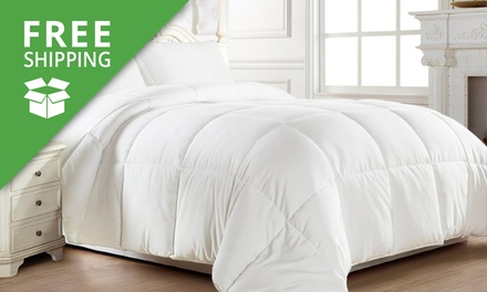 Free Shipping: Feather and Down Quilt: Single ($55), Double ($59), Queen ($65) or King ($69) (Dont Pay up to $299)