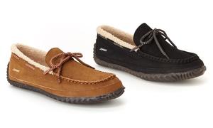 Jambu Men's Ethan Moccasin Slippers (Sizes 10.5 & 11)