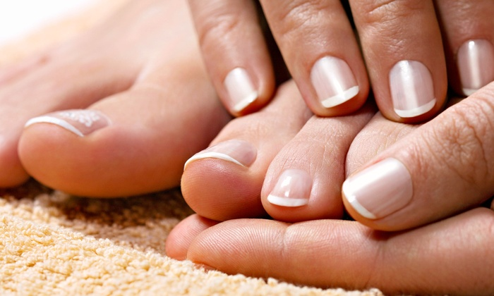 Ten One Nail Spa - Tarzana: One or Two Deluxe Manicures and Spa Pedicures with Salt Scrub and Massage at Ten One Nail Spa (Up to Half Off)