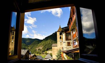 Andorra: 1 a 5 noches en habitación doble con media pensión y late check-out en Hotel Santa Bàrbara de la Vall d'Ordino