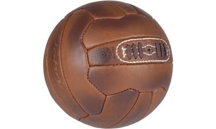 Retro-Style Size 5 Football