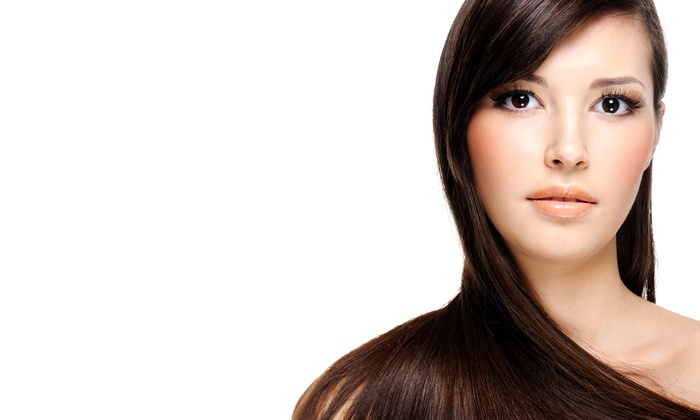 Oasis Medspa and Salon - Woodinville: $45 for a Haircut, Blowout, and Deep-Conditioning Treatment at Oasis Medspa and Salon ($80 Value)